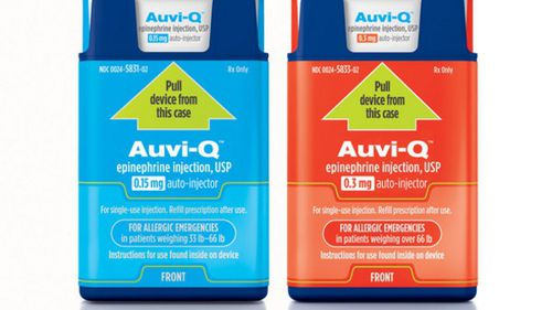 Allergy and Anaphylaxis Australia is looking at another supplier called Auvi-Q. (Supplied)