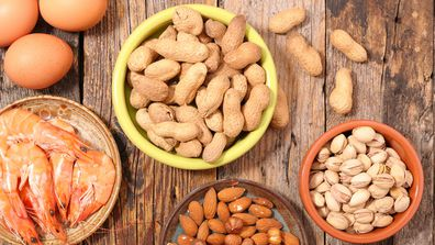 Foods that can cause allergies