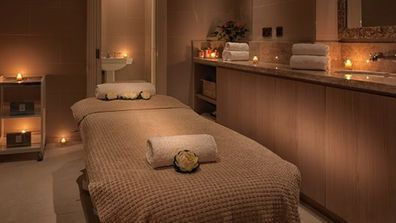 The treatment room at the La Lit spa in London.