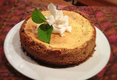Sugar-free nut cheesecake from <i>I Quit Sugar Cookbook</i>