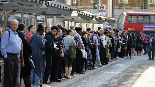 Chaotic scenes throughout London as Tube staff strike