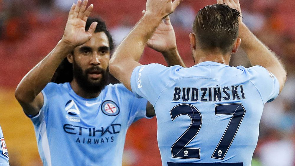 A-League: Melbourne City come from behind to beat Brisbane Roar