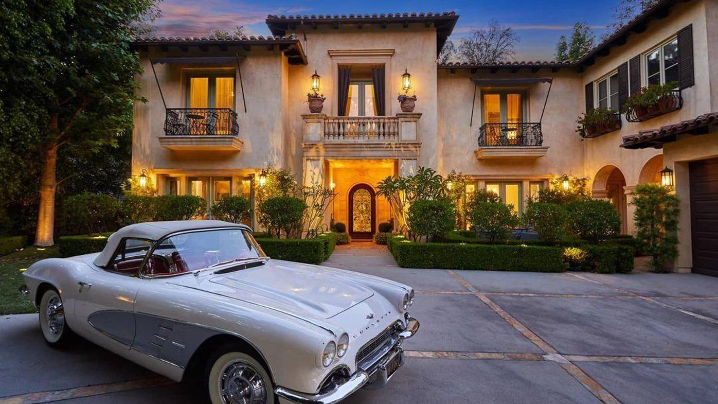 Britney Spears former home in Beverly Hills