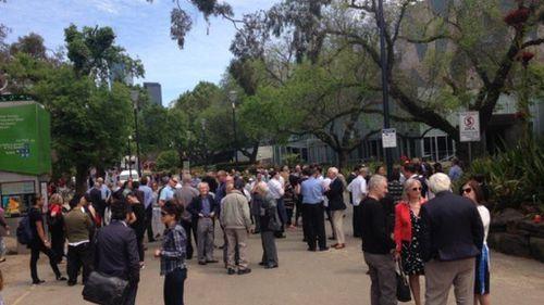 Gas leak forces evacuation of Melbourne's Federation Square