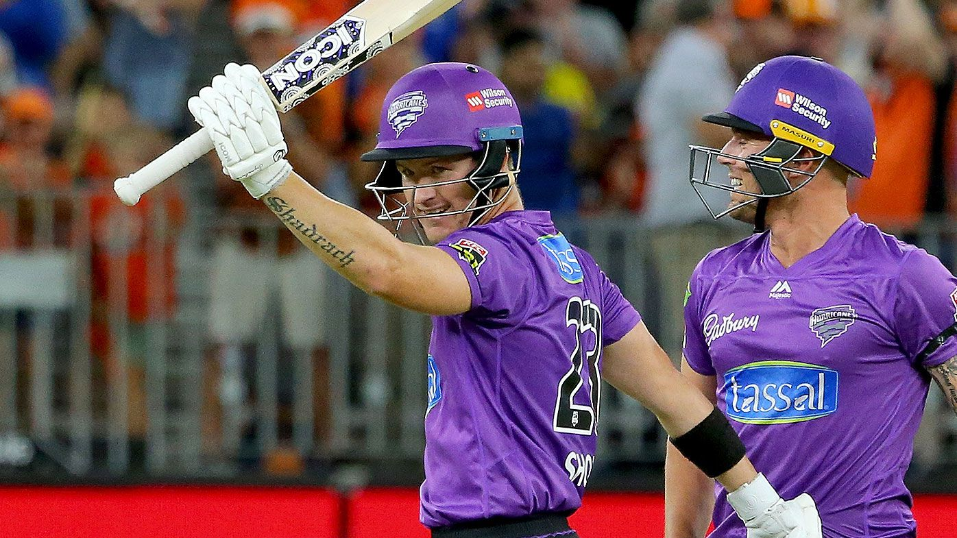 Short blasts century for Hurricanes in BBL