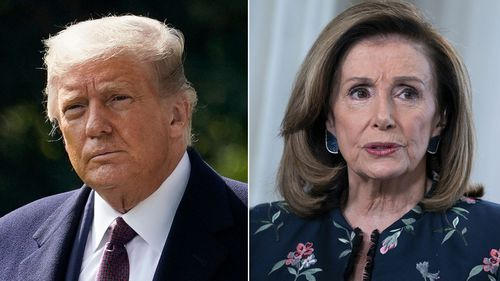 Trump Pelosi Split