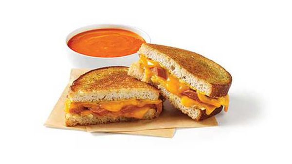Toasted cheese deliciousness (The Melt)