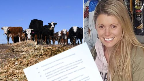 Kara Taylor composite image about drought defamation case.