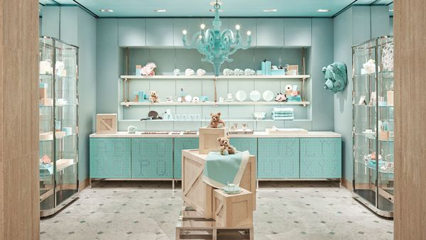 The Tiffany's boutique