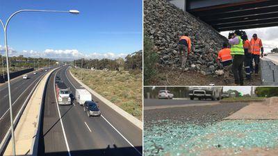 Expressway racks up 33rd rock attack