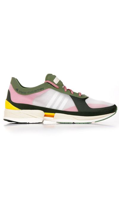 "<a href=""https://www.alducadaosta.com/eng/product/9000413029"" target=""_blank"">Diorite Adizero Sneakers, $195, Adidas By Stella McCartney at alducadaosta.com</a>"