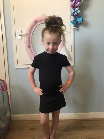 Mum horrified to find dress she ordered online fits her 4-year-old