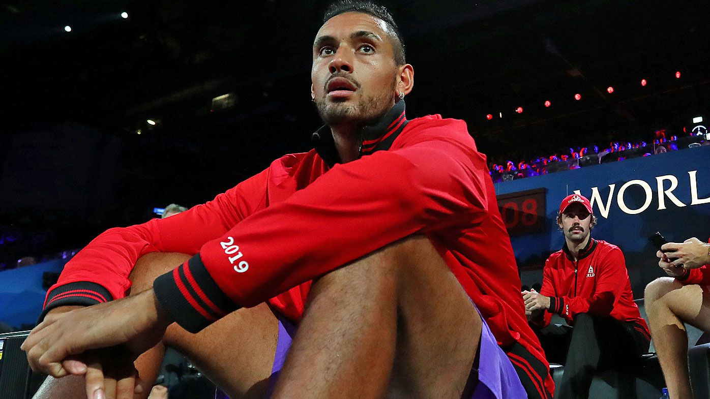 'Guess I'm on my best behaviour': Nick Kyrgios reacts to ATP Tour suspended ban