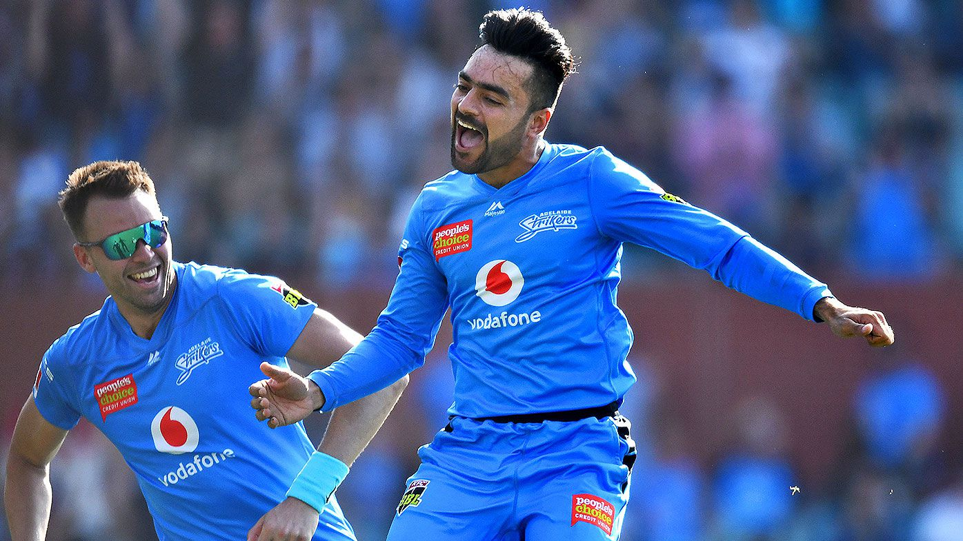 Sixers survive Rashid hat-trick in BBL win