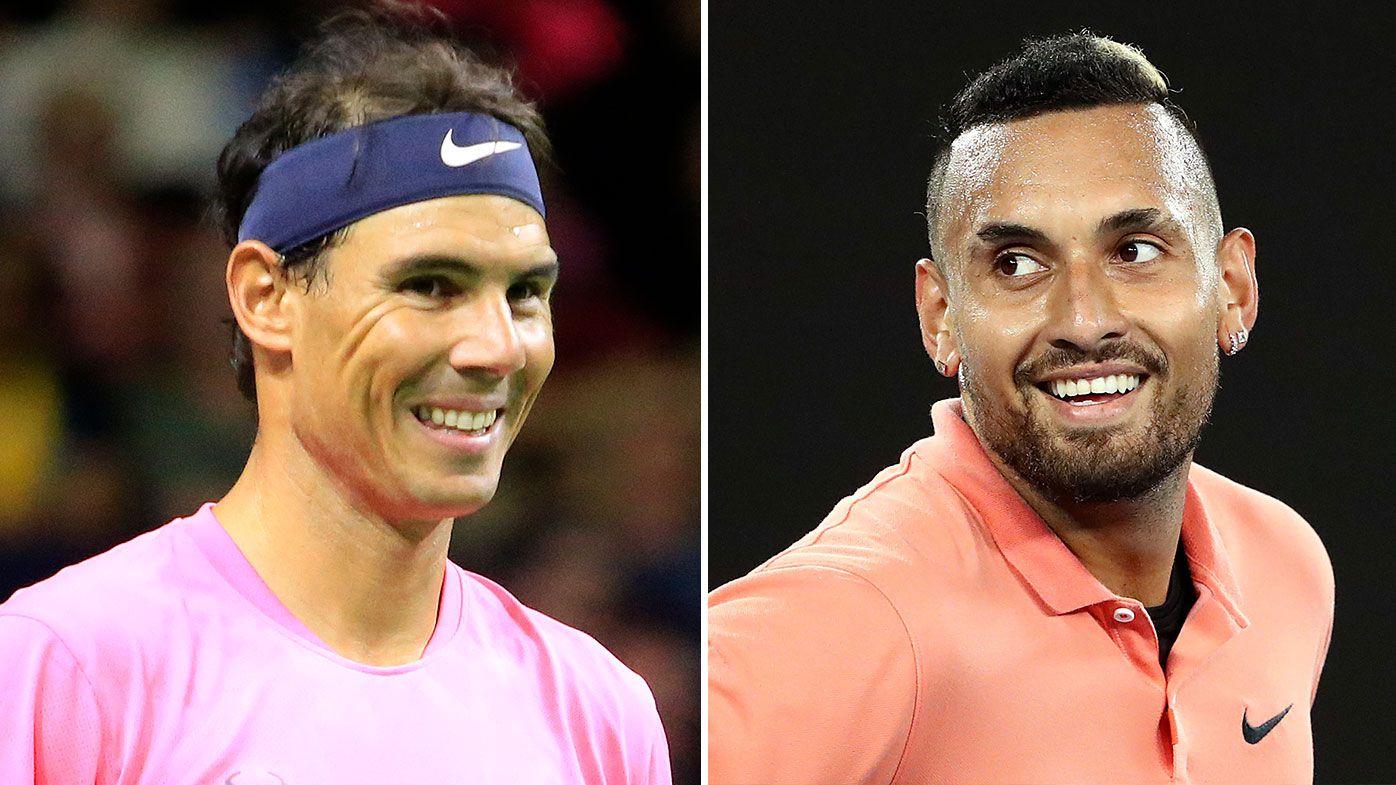 Nadal may play as Kyrgios in virtual Open