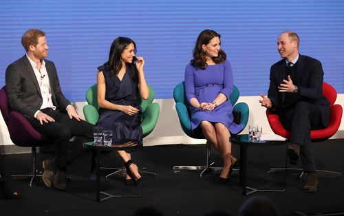 The Royal Foundation Forum was the first royal engagement for the Royals. (AAP)