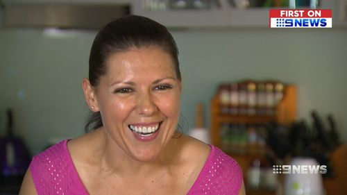 At her heaviest, Shari weighed 180kg before she decided to turn her life around. (9NEWS)