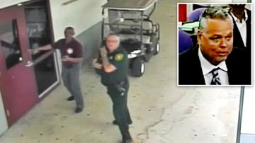 Florida massacre officer who hid awarded $11k monthly pension