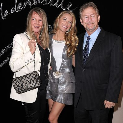 Blake Lively and Ernie Lively attends the CHANEL dinner hosted in honor of Blake Lively during Paris Fashion Week on March 5, 2011 in Paris, France.