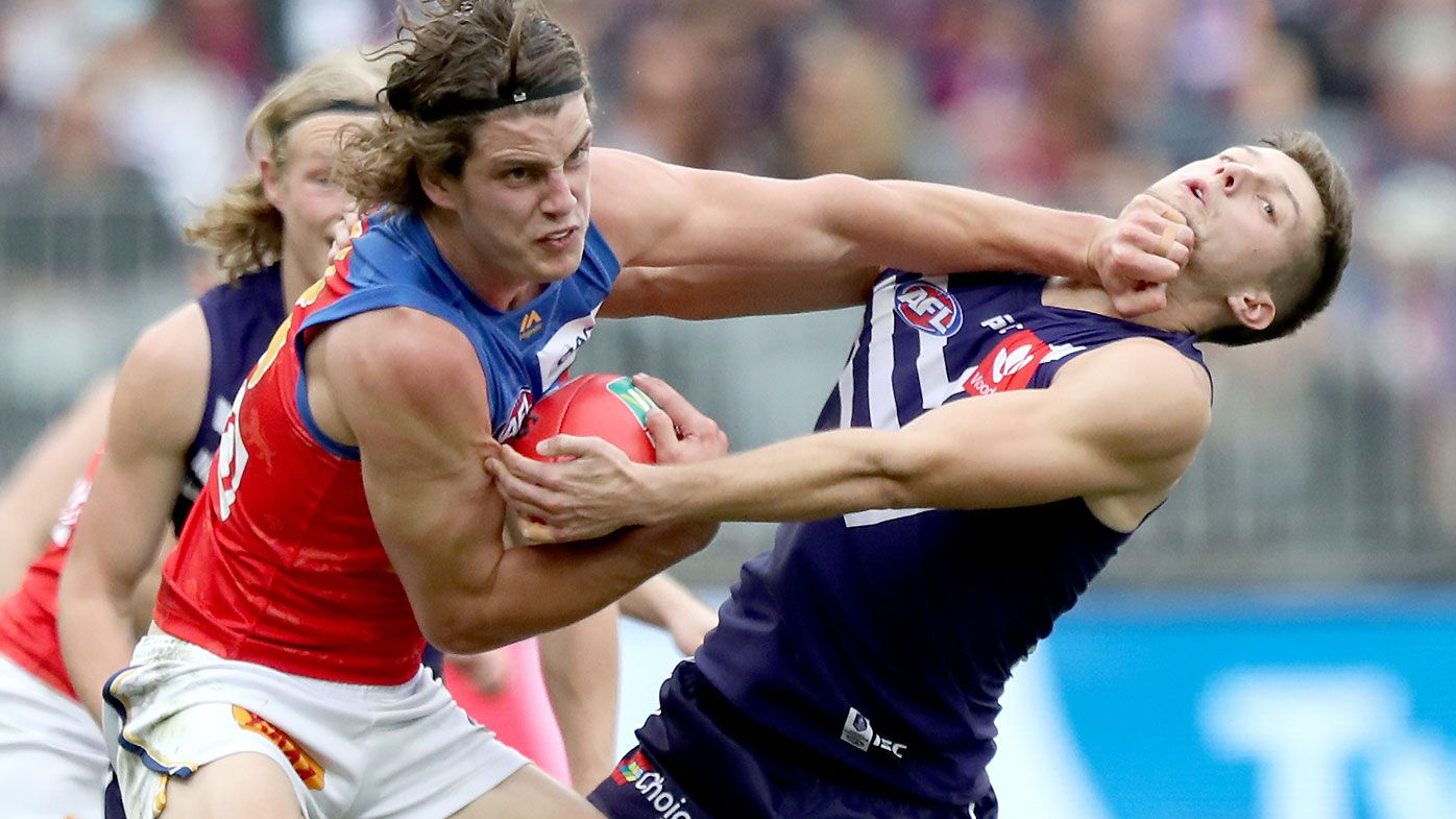 Fyfe injured as Lions blitz Dockers in AFL
