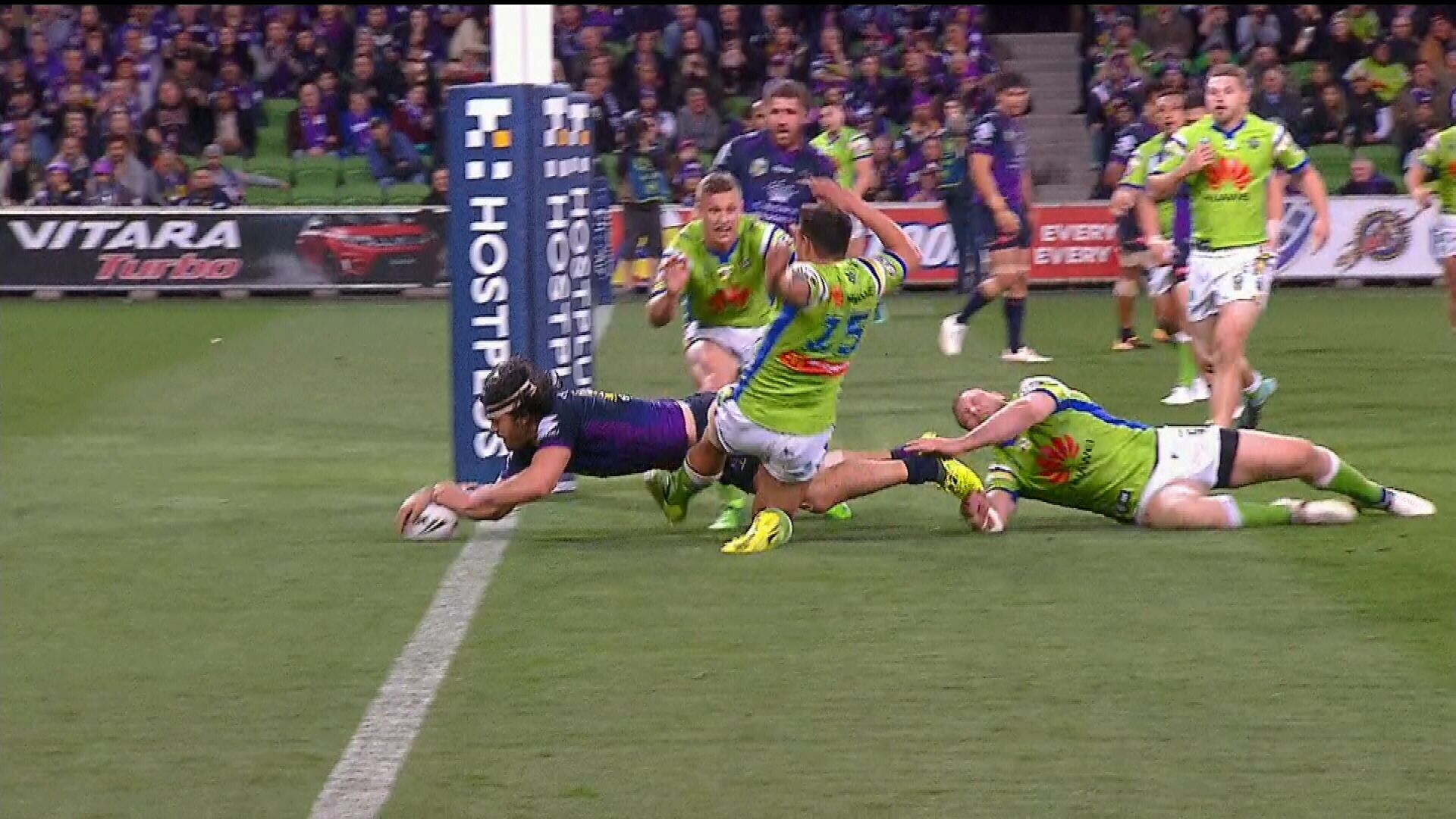 Eight-point try