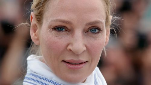 Uma Thurman has accused Harvey Weinstein of sexual assault. (AAP)