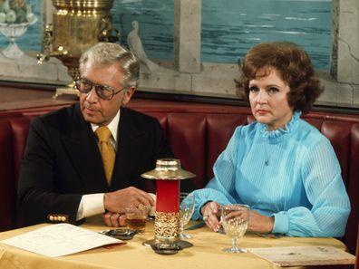 Allen Ludden and Betty White.