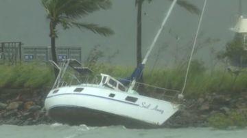 Cyclone Iris menacing coast
