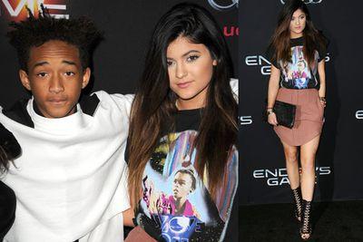 Jaden Smith and Kylie Jenner.