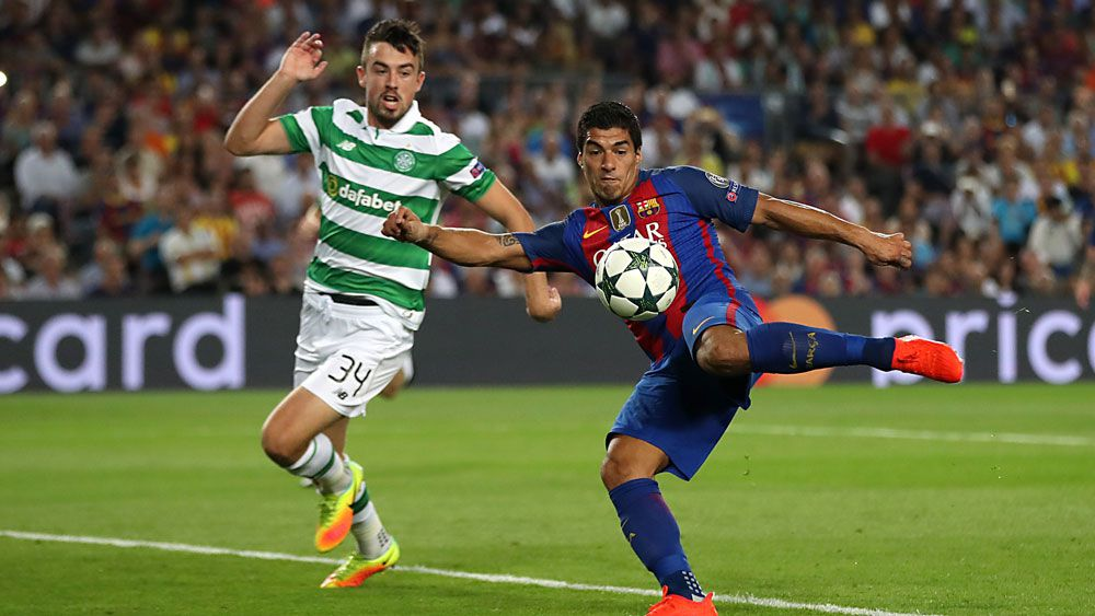 Messi breaks record as Barca hit Celtic