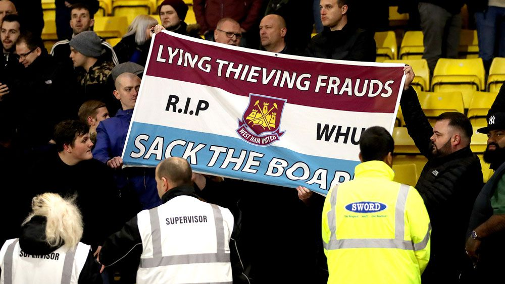 West Ham fans urged not to call emergency services over team's poor form