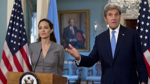 John Kerry (right) ran for president in 2004, and is considering doing it again in 2020.