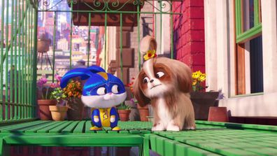 Kevin Hart and Tiffany Haddish in Secret Life of Pets 2