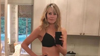 Melanie Griffith, underwear, photo, Instagram