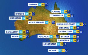 Records set to tumble as heatwave continues across Queensland