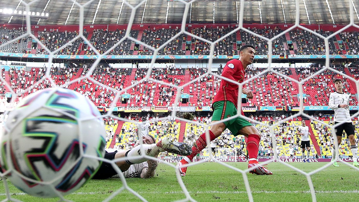 Cristiano Ronaldo scores length of pitch goal but Portugal lose to Germany at Euros