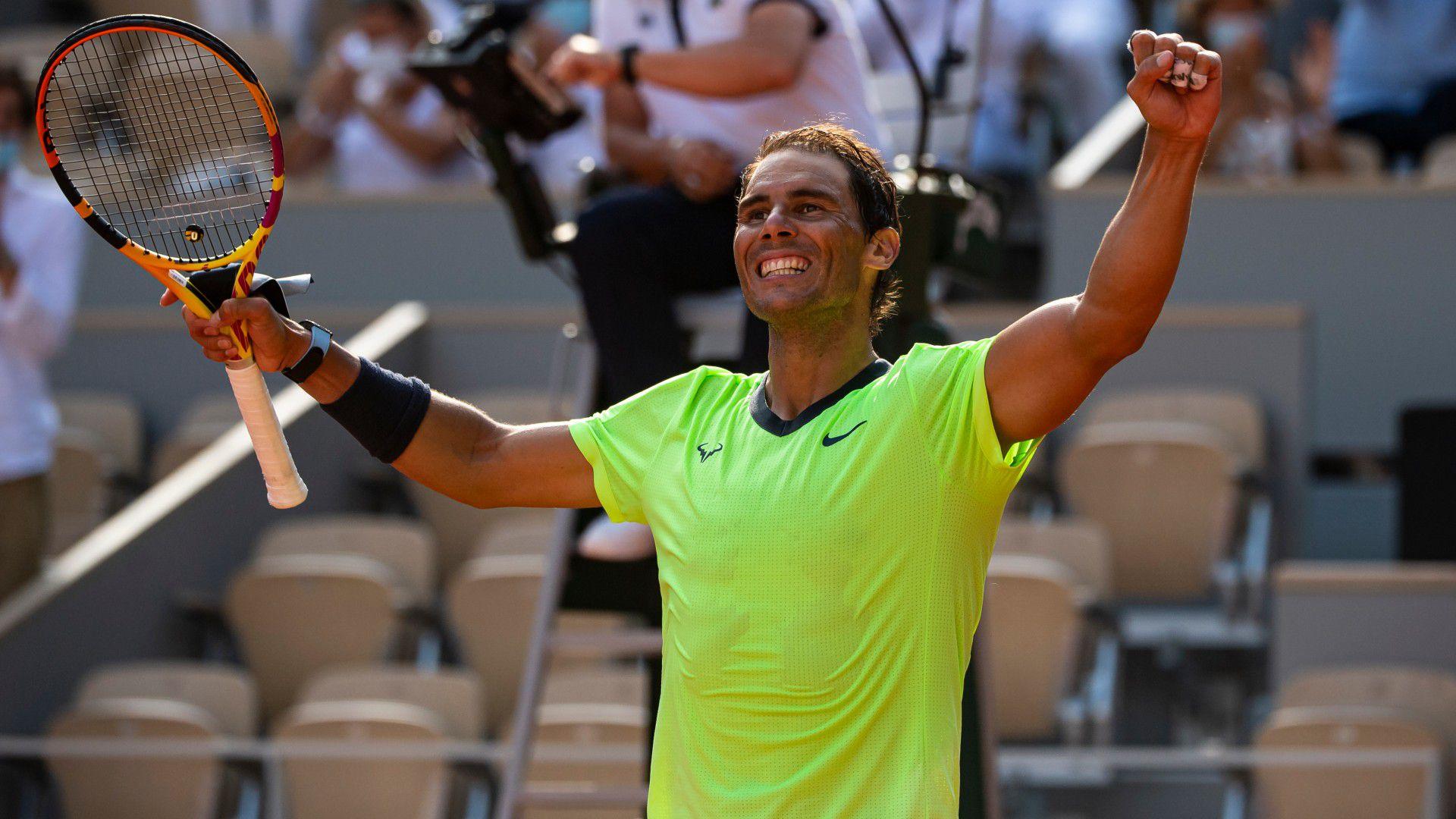 Rafael Nadal into 14th Roland Garros semi-final