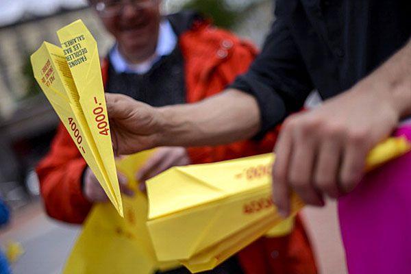 Swiss wages referendum