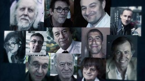 The victims of the Charlie Hebdo attack. (9NEWS)