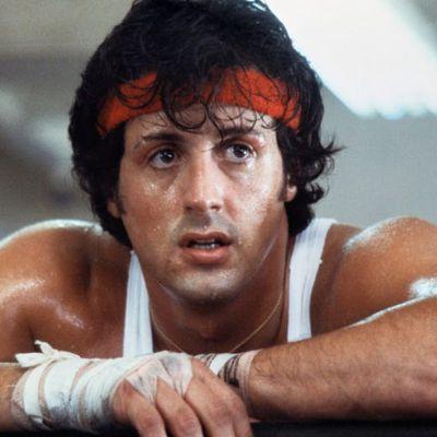 Sylvester Stallone as Rocky Balboa: Then