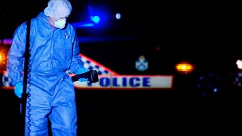 Police discovered Mr Gerbic's charred body wrapped in a towel on the side of the road. Image: 9News