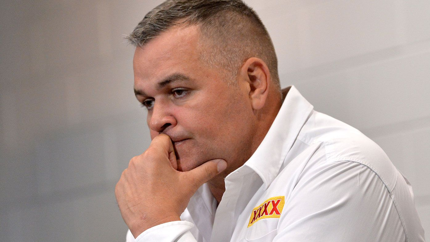 Brisbane Broncos CEO Paul White confirms existence of 'performance measures' that may ease Anthony Seibold sacking