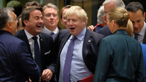 Back Boris Johnson's Brexit deal to reclaim United Kingdom sovereignty