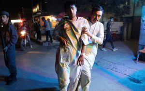 Twin Afghan blasts: At least 20 dead in suicide attack and nearby car bombing in Kabul