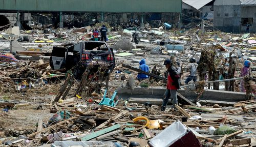 Australia is sending $5m to stricken Indonesia after the powerful earthquake and tsunami which has killed more than 1200 people and left tens of thousands homeless.