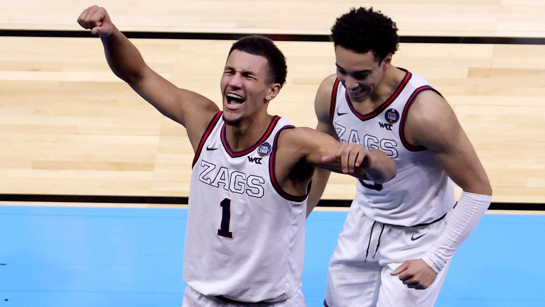 Gonzaga into national championship game after overtime buzzer beater against UCLA