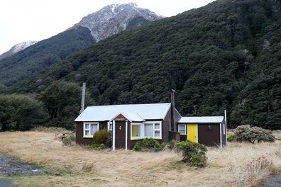 Alpine village life