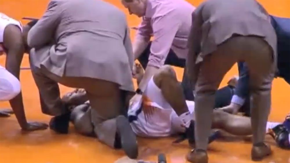 Phoenix Suns player Isaiah Canaan suffers gruesome NBA injury