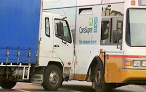 Truck driver killed in Sunshine West bus crash