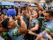 GALLERY: Bring on the beer! Brilliant Blues celebrate series win